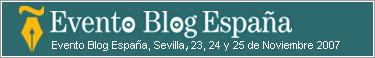 Evento Blog España 2007