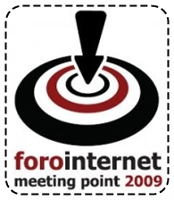 Logo Foro Internet Meeting Point 2009