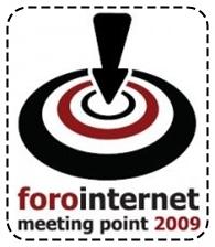 Logo Foro Internet Meeting Point 2009