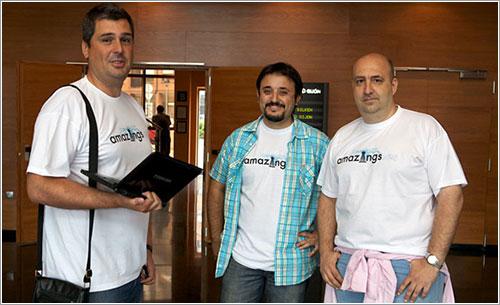 Los Amazings. Foto de Fernando de Silva.