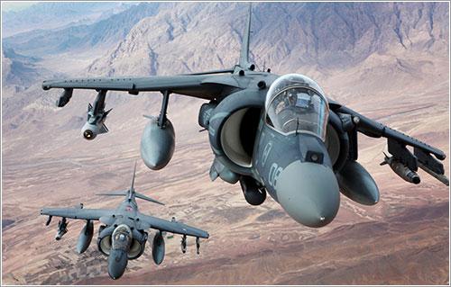Los Harrier afotados