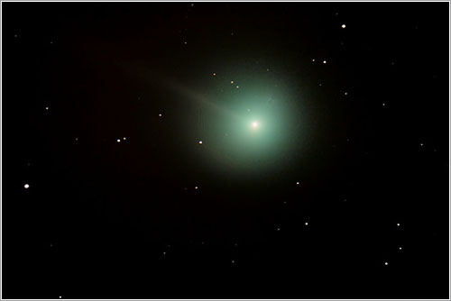El cometa Lovejoy por Joseph Morgan