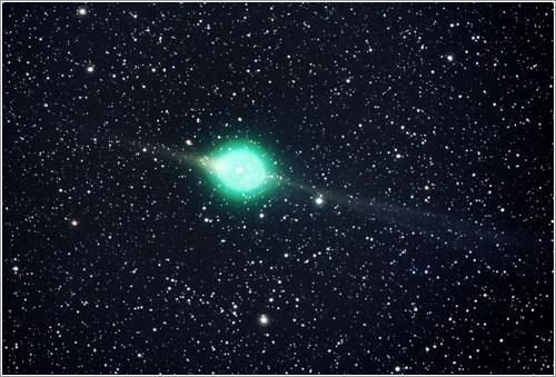 El cometa Lulin por Jack Newton