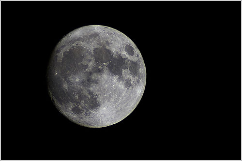 Luna del 17 de abril de 2011