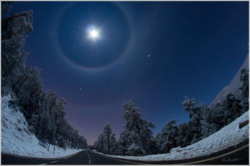 La Luna y 4 arcos - Dani Caxete