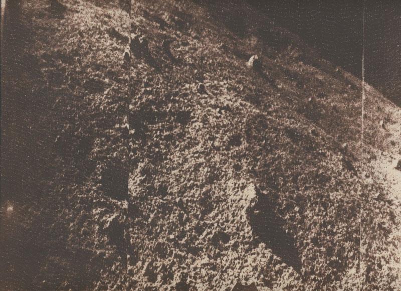 Primera foto transmitida por la Luna 9