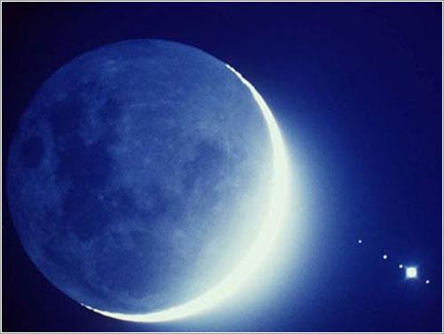 Luna azul por Vic Winter (ICSTARS)