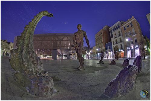 Luna y planetas sobre Cataluña - Juan Carlos Casado