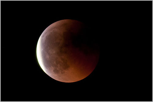 Luna roja por Domenico Salvagni