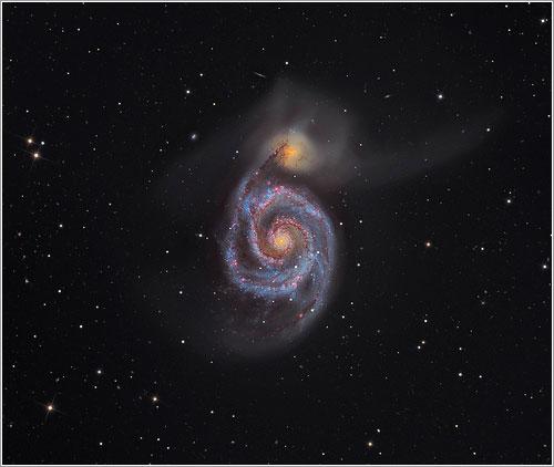 M51 por Martin Pugh