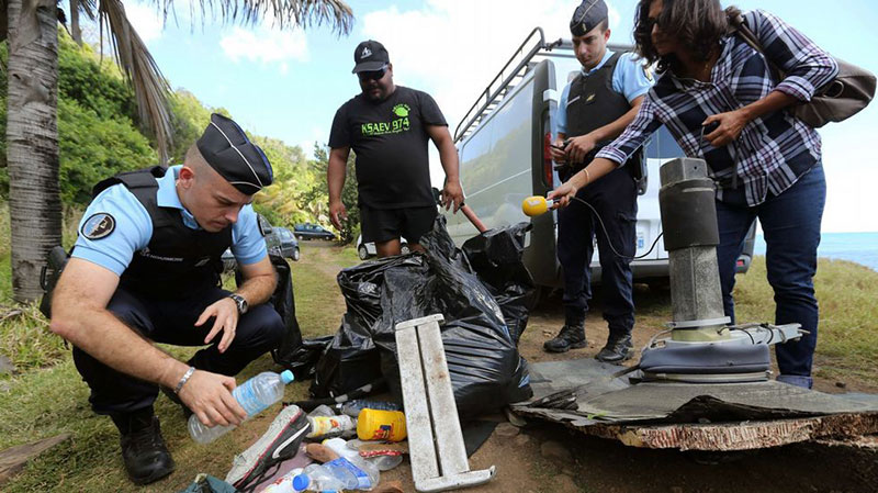 A la caza de posibles restos del MH370
