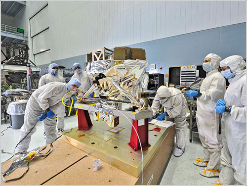 MIRI en Goddard - NASA/Chris Gunn