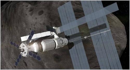 Impresión artística del MPCV en servicio - ESA