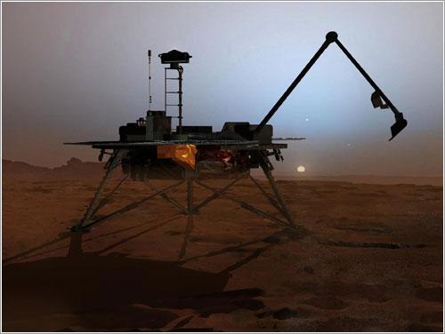 La MPL en el invierno marciano - NASA/JPL-Calech/University of Arizona