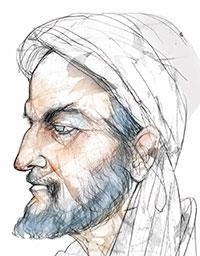 Retrato de Abbás Ibn Firnás en el Muncyt