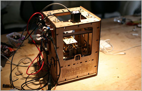 MakerBot: la impresora 3-D para crear pequeños objetos a medida