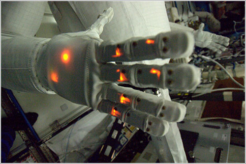 Mano de Robonaut 2