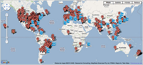 Mapa de InOMN