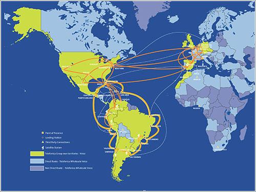 Mapa IP de Telefónica