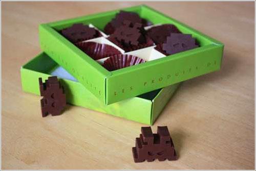 Marcianitos de chocolate por AwajiMan