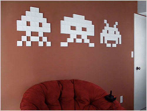Space Invaders de papel