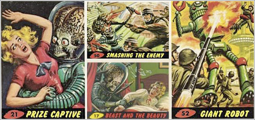Mars Attacks! por Bubbles, Inc. [Topps], 1962
