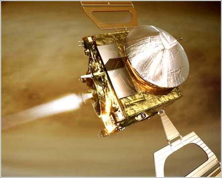 Mars Express frenando