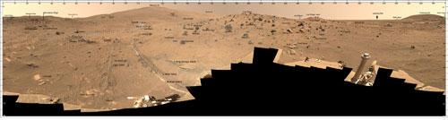 Panorama McMurdo © NASA/JPL/Cornell