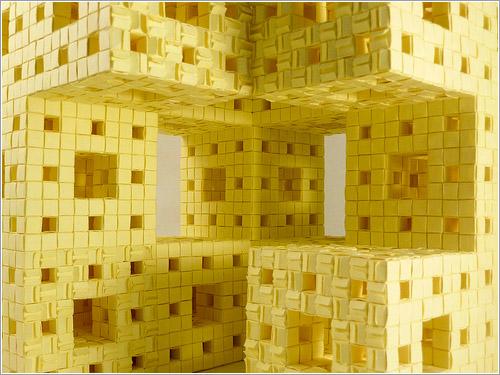 Interior de la esponja