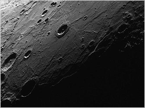 Cráter de impacto - NASA/Johns Hopkins University Applied Physics Laboratory/Carnegie Institution of Washington