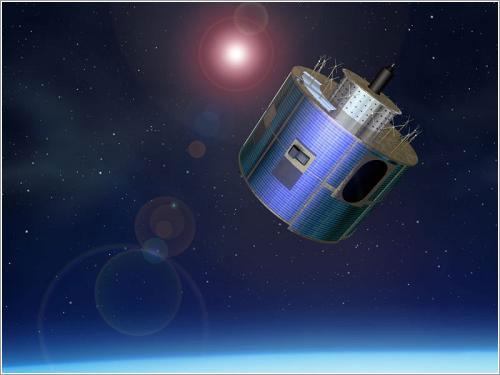 Impresión artística de un MSG en órbita - Instituto Meteorológico Noruego