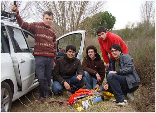 El equipo Meteotek08