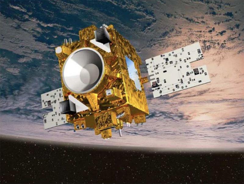 Impresión artística de Microscope en órbita