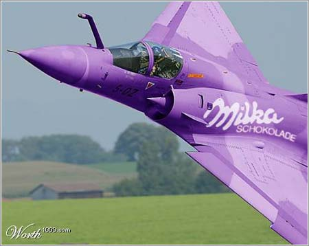 Avión Milka