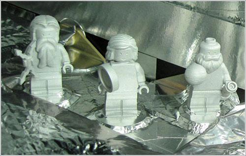 Los minifigs de Juno