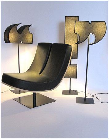 Mobiliario tipográfico por Tabisso