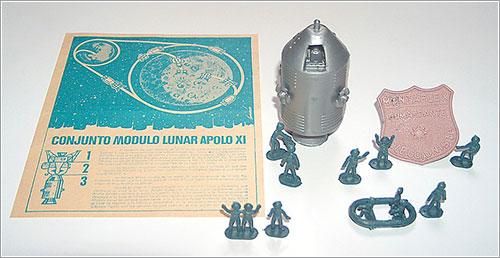 Módulo de mando del Apolo 11 -Montaplex