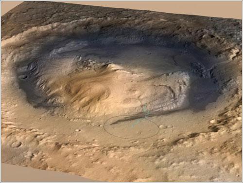 Monte Sharp - NASA/JPL-Caltech/ESA/DLR/FU Berlin/MSSS
