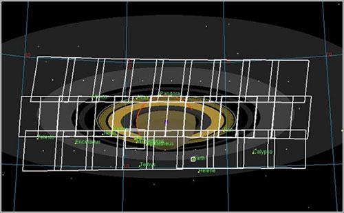 Mosaico de la Cassini