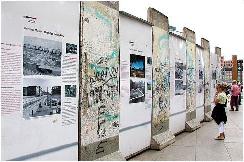 Muro de Berlín en 2008