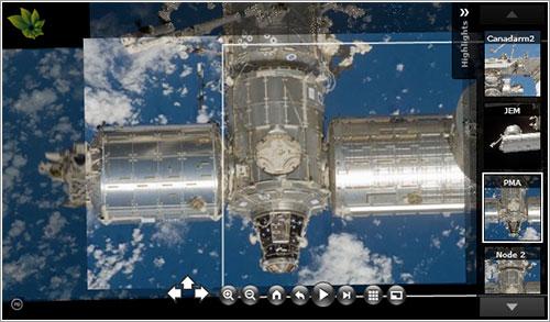 La ISS en 3D