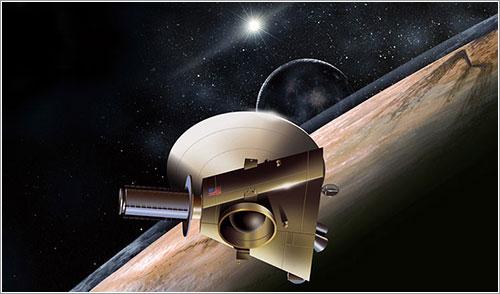 Impresión artísitica de la New Horizons