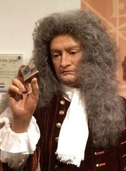Newton en Madame Tussauds de Londres