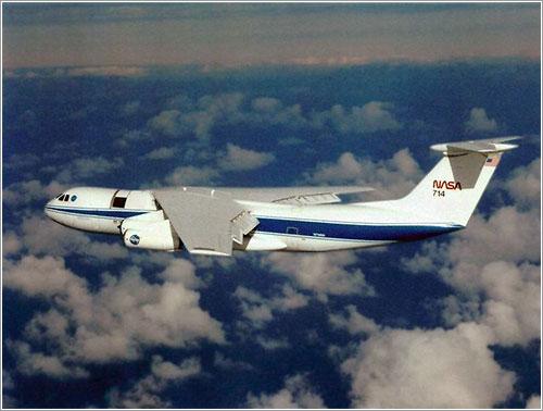 KAO en vuelo - NASA