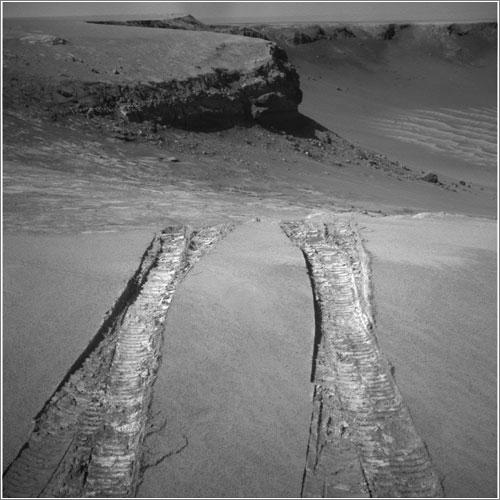 Opportunity deja el cráter Victoria - NASA/JPL-Caltech