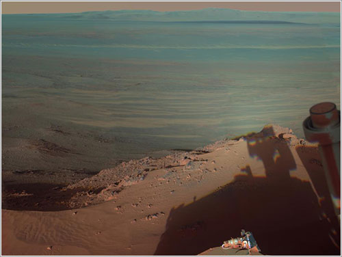 Imagen que envió Opportunity - NASA/JPL-Caltech/Cornell/Arizona State Univ.