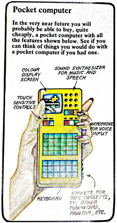 Ordenador de bolsillo, versión 80s