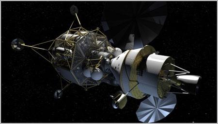 Altair (derecha) y Orion (izquierda) en el espacio - NASA