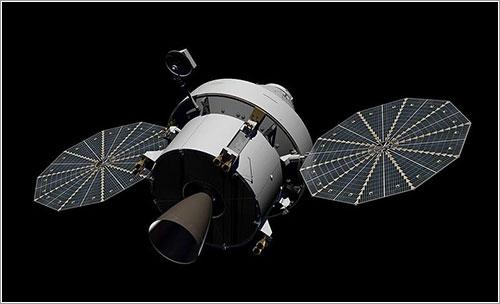 Impresión artística de una Orión - NASA