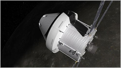La ESA construirá el módulo de servicio de la Orión